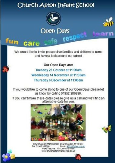 Open Days for Prospective Parents